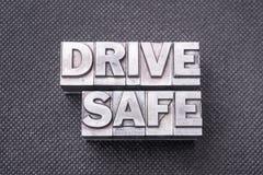 Conduza o bm seguro Imagem de Stock
