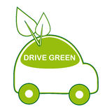 Conduza o verde Foto de Stock