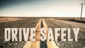 Conduza a segurança Foto de Stock