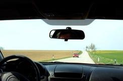 Conduzca con el paisaje Imagen de archivo libre de regalías