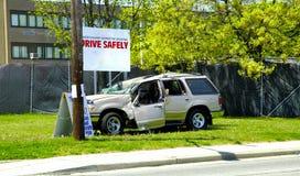 Conduzca con seguridad Imagen de archivo