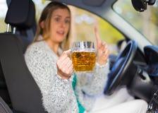 ¡Conduzca con seguridad! Foto de archivo libre de regalías