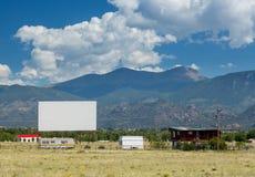 Conduzca en cine en Buena Vista CO Imagen de archivo libre de regalías