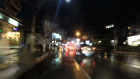 Conduzca a través de Pattaya almacen de metraje de vídeo