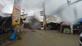 Conduzca a través de Pattaya metrajes