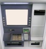 Conduzca a través o recorra en máquina de la batería de las actividades bancarias Foto de archivo