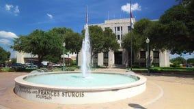 Conduzindo a câmara municipal passada em Waco Texas filme