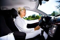 Conduzindo a menina Foto de Stock Royalty Free