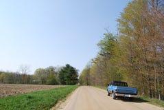 Conduzindo o caminhão Fotos de Stock Royalty Free