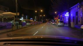 Conduzindo um carro na noite filme