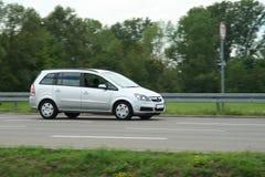 Conduzindo Van Imagens de Stock Royalty Free