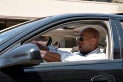 Conduzir tem a raiva da estrada Imagem de Stock