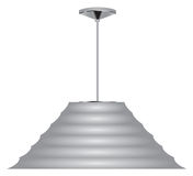 Cone ceiling lamp Stock Photography