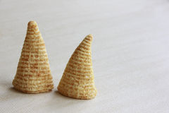 Cone of Corns Snack Royalty Free Stock Image