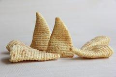Cone of Corns Snack Royalty Free Stock Photos