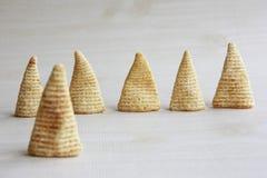 Cone of Corns Snack Stock Photos