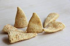 Cone of Corns Snack Stock Image