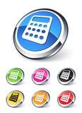Ícone da calculadora Imagem de Stock
