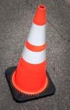 Cone da construção Fotografia de Stock Royalty Free