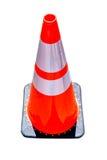 Cone da construção isolado Imagens de Stock Royalty Free