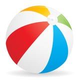 Ícone da esfera de praia Fotografia de Stock Royalty Free