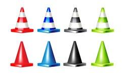 Cone da estrada Imagens de Stock Royalty Free