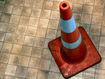 Cone da estrada Foto de Stock Royalty Free