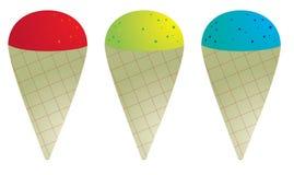 Cone da neve Imagens de Stock