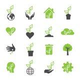 Ícone da planta Imagens de Stock