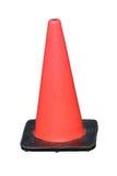 Cone da segurança de tráfego Fotografia de Stock