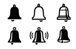 Ícone de Bell Imagem de Stock