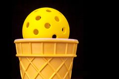 Cone de Pickleball fotografia de stock royalty free