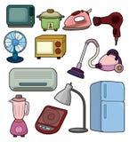 Ícone do aparelho electrodoméstico dos desenhos animados Fotografia de Stock Royalty Free