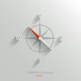 Ícone do compasso Imagens de Stock