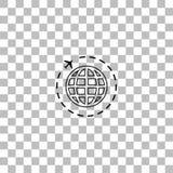 ?cone do curso liso ilustração do vetor