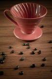 Cone do gotejamento do café Foto de Stock Royalty Free