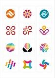 ícone do logotipo Fotos de Stock Royalty Free