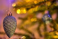 Cone do Natal imagens de stock royalty free
