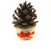 Cone do Natal Foto de Stock Royalty Free