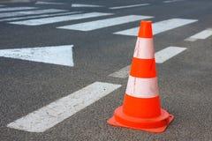 Cone do tráfego Fotos de Stock