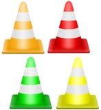 Cone do tráfego Imagem de Stock Royalty Free