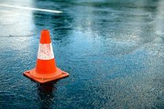 Cone do tráfego Imagens de Stock