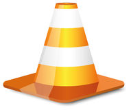 Cone do tráfego Fotografia de Stock Royalty Free