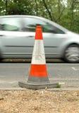 Cone do tráfego Imagem de Stock
