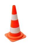 Cone do tráfego isolado Imagem de Stock