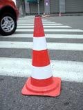 Cone dos Roadworks/tráfego Fotografia de Stock