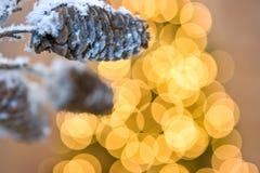 Cone e iluminação Fotos de Stock Royalty Free