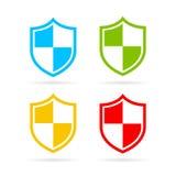 Ícone heráldico do vetor do protetor Imagem de Stock Royalty Free