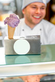 Cone ice cream Royalty Free Stock Photo
