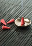 Cone of incense Royalty Free Stock Images